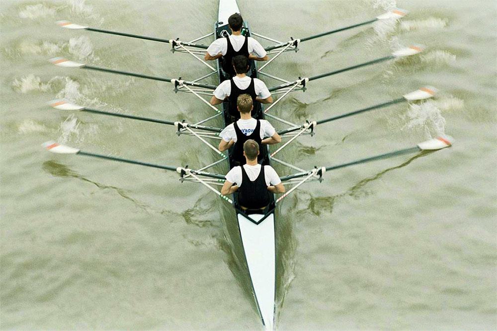 SFF Exempel tävlingsroddbåt